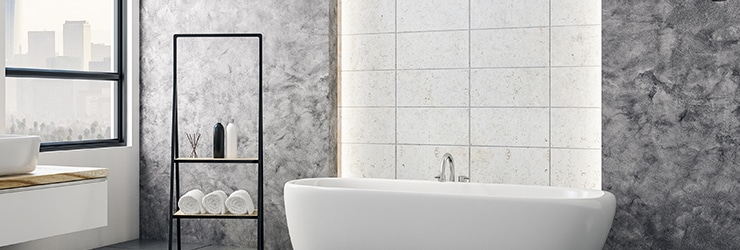 betegelen van badkamer