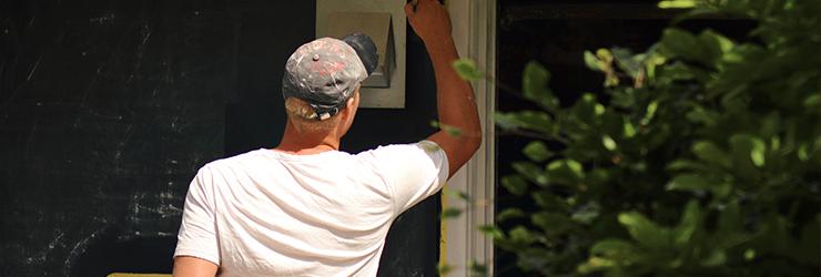 garagepoort schilderen